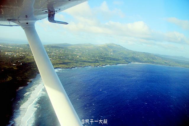 开飞机环摄塞班岛,枫子带你装b带你飞!