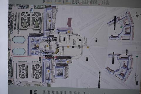 凡尔赛宫平面图_凡尔赛宫平面