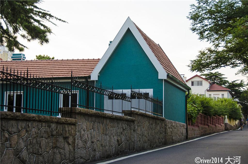 景区欧式假房子造型