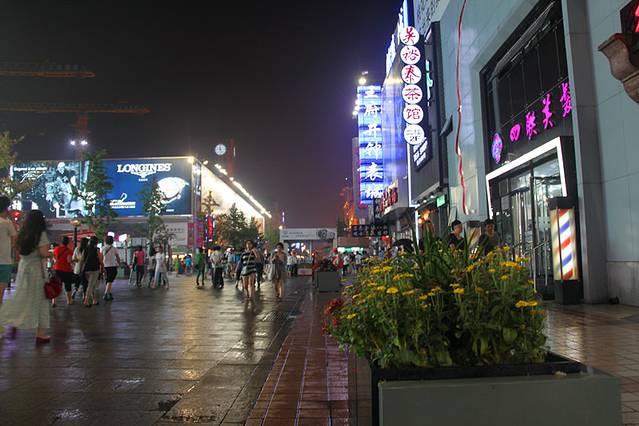 王府井是北京的四大商圈之一,所以这个地方是必去的,它离景点天安门很近,它离购物的东单、西单也很近,更何况它本身就是一个休闲、娱乐、购物的综合性景点了。王府井,主要是因为它源远流长的历史出名,再加上后来这大街拥有了亚洲最大的商业楼宇,密度最大、最集中的大型商场、宾馆与专卖店,基本商业化。虽然王府井也被称为王府井步行街,但是这里交叉的路口还是有行车路过的,跟上海的南京路步行街比,是没有小火车观光旅游车的,全靠步行。这里的密集的大型商场,品牌,不仅是购物者的天堂,也称为了很多其他商业考察和学习的典范,总得说来