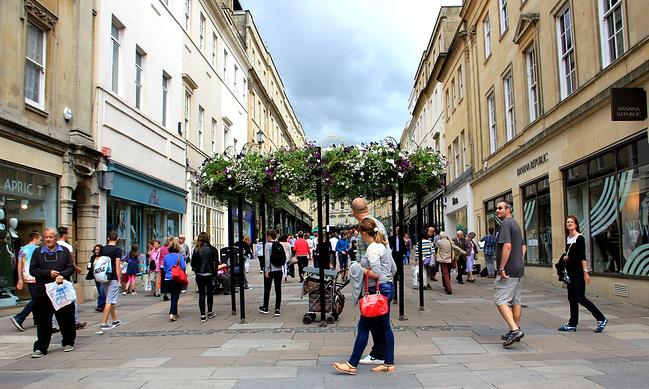 巴斯商业步行街图片