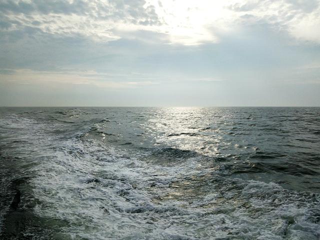 船儿荡呀荡呀,就把我荡到了美丽的嵊泗咯