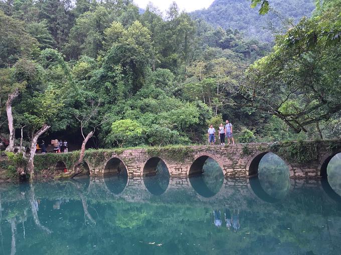 黔南旅游攻略 贵州荔波大小七孔自驾游 详尽攻略不看可惜  小七孔景区