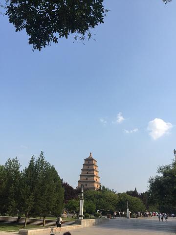 016 大雁塔广场有亚洲最大音乐喷泉 大雁塔评论 去哪儿攻略社区