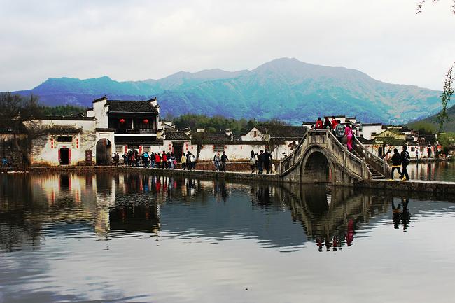 宏村風景圖片高清