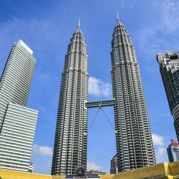 最完美的观塔角度:吉隆坡双子塔一直都是