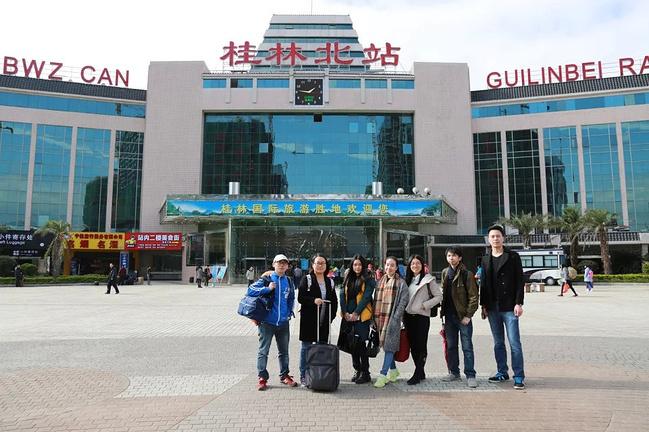 桂林北站到飞机场