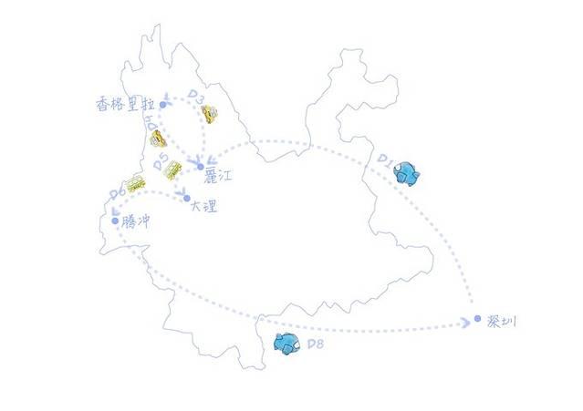 中国地图简笔画xiaotu