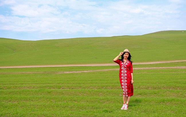 呼伦贝尔大图片视频草原用电钻做佛珠图片