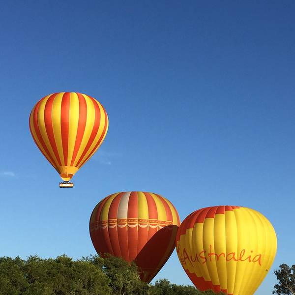 热气球旅行