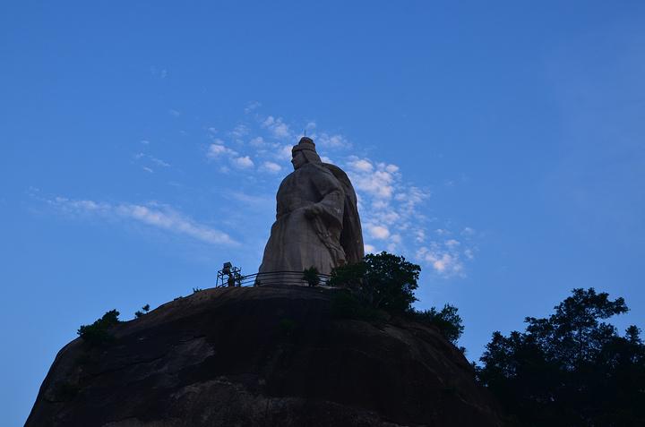"""""""全国最大的郑成功石雕像_皓月园""""的评论图片"""