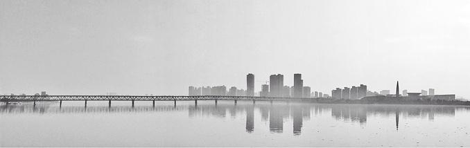 美丽的城市剪影