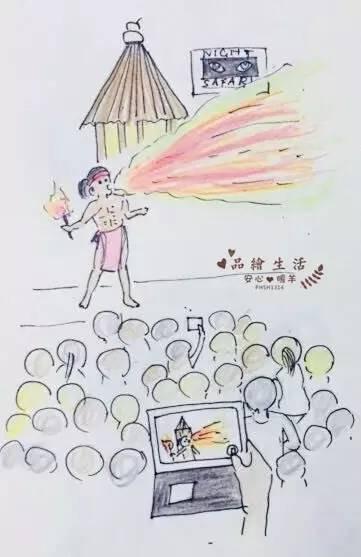 新加坡春节温馨亲子手绘游
