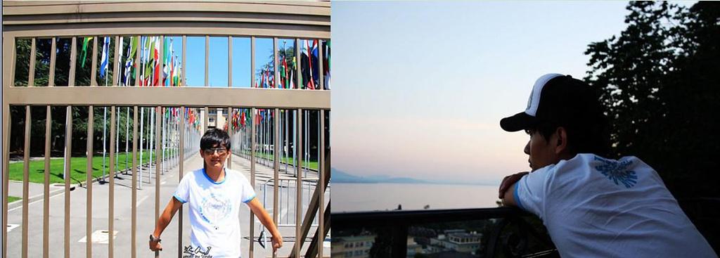 日内瓦湖畔的写意人生