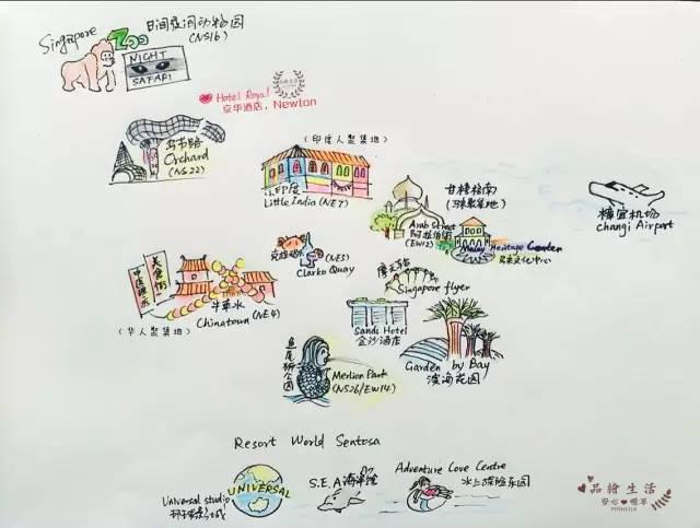 新加坡春节温馨亲子手绘游~_新加坡旅游攻略_自助游