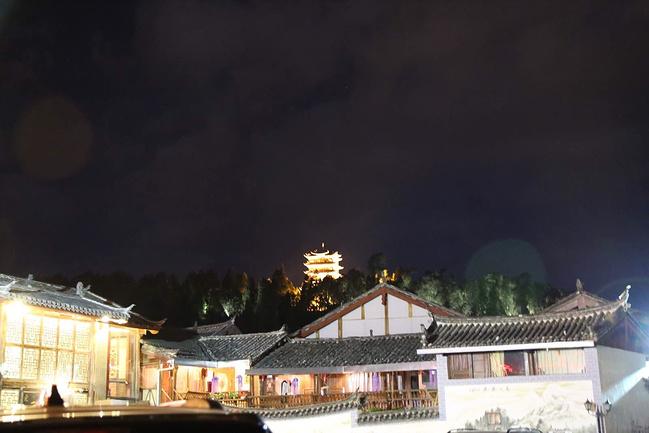 丽江夜色图片