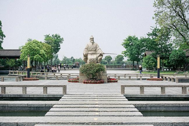 常熟尚湖风景区图片