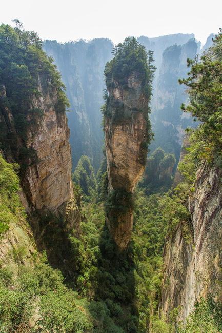 张家界风景区图片