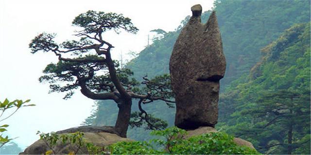石头画风景简单