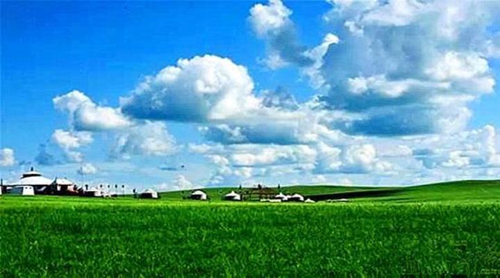 """一派田园风光_呼伦贝尔大草原""""的评论图片"""