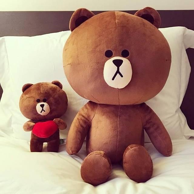 可爱熊熊吃东西头像