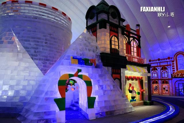 海底城堡简笔画彩色