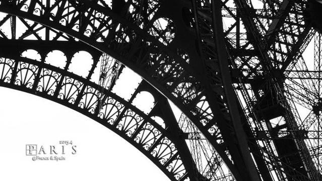 婚纱拍摄地点二:巴黎铁塔