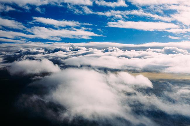 最美的云海图片