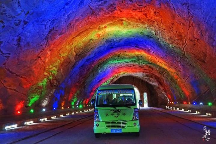 """交通:在弋阳县有2路公交车可以直达景区_龟峰风景名胜区""""的评论图片"""