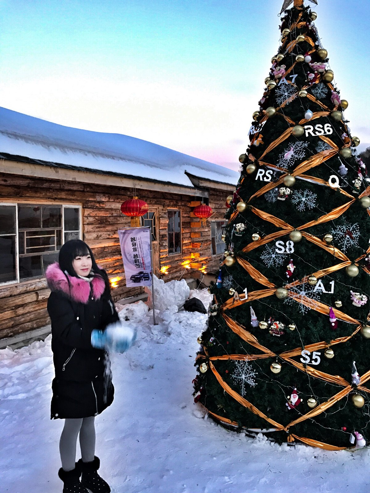 不一样的圣诞节,不一样的雪乡~