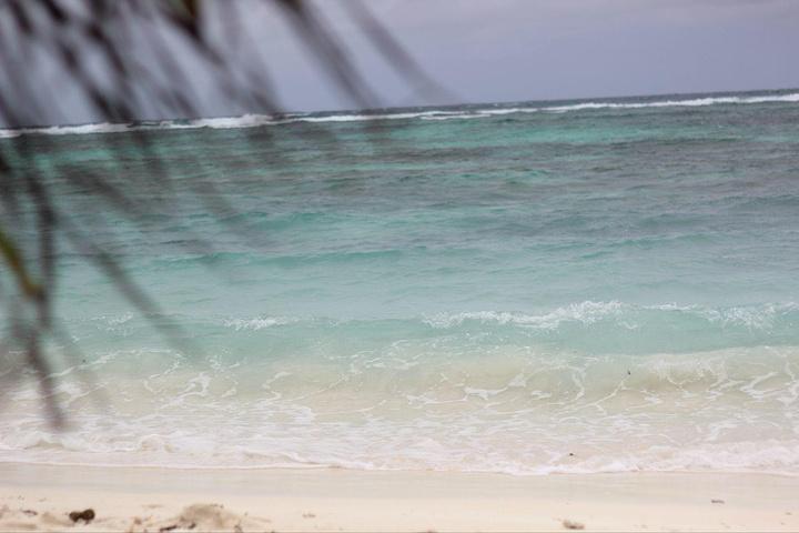 一路骑行,来到了他们知名的德阿让海滩,门票人均100卢比,听说里面也是海神龟比较出名才收费的,里面确实有很多很大的神龟,而德阿让海滩也是因为这个海滩有很多漂亮的石头而闻名的,不同于其他的海滩... 因为今天下大雨了,所以海水和沙滩看起来还是一般的...