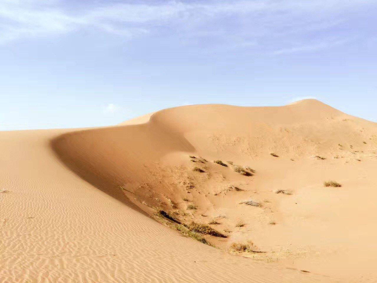 30岁,咱穿越个腾格里沙漠