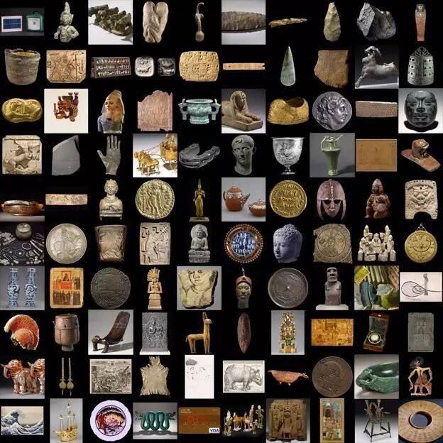 一日百万年--大英百物展