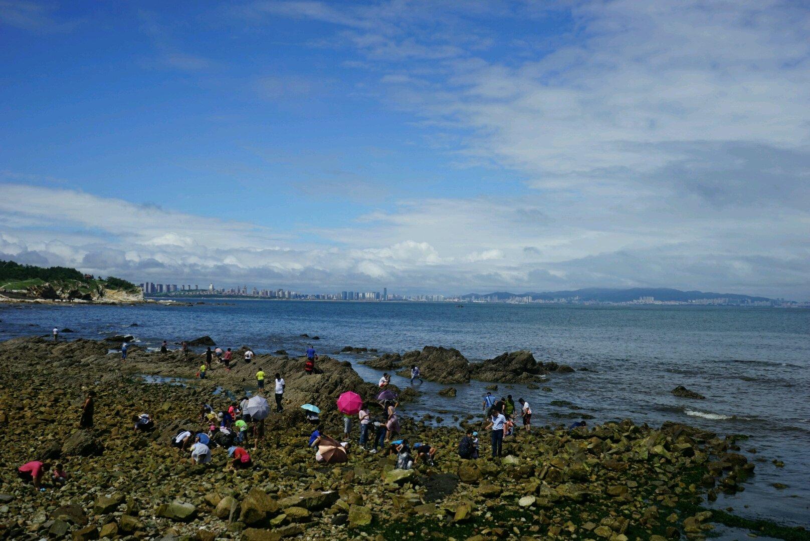2018养马岛游玩攻略,终于看到蓝天了天越湾海滩 a