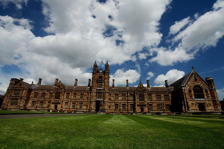悉尼大學(the university of sydney)始建于1850年,是坐落于澳洲金融.