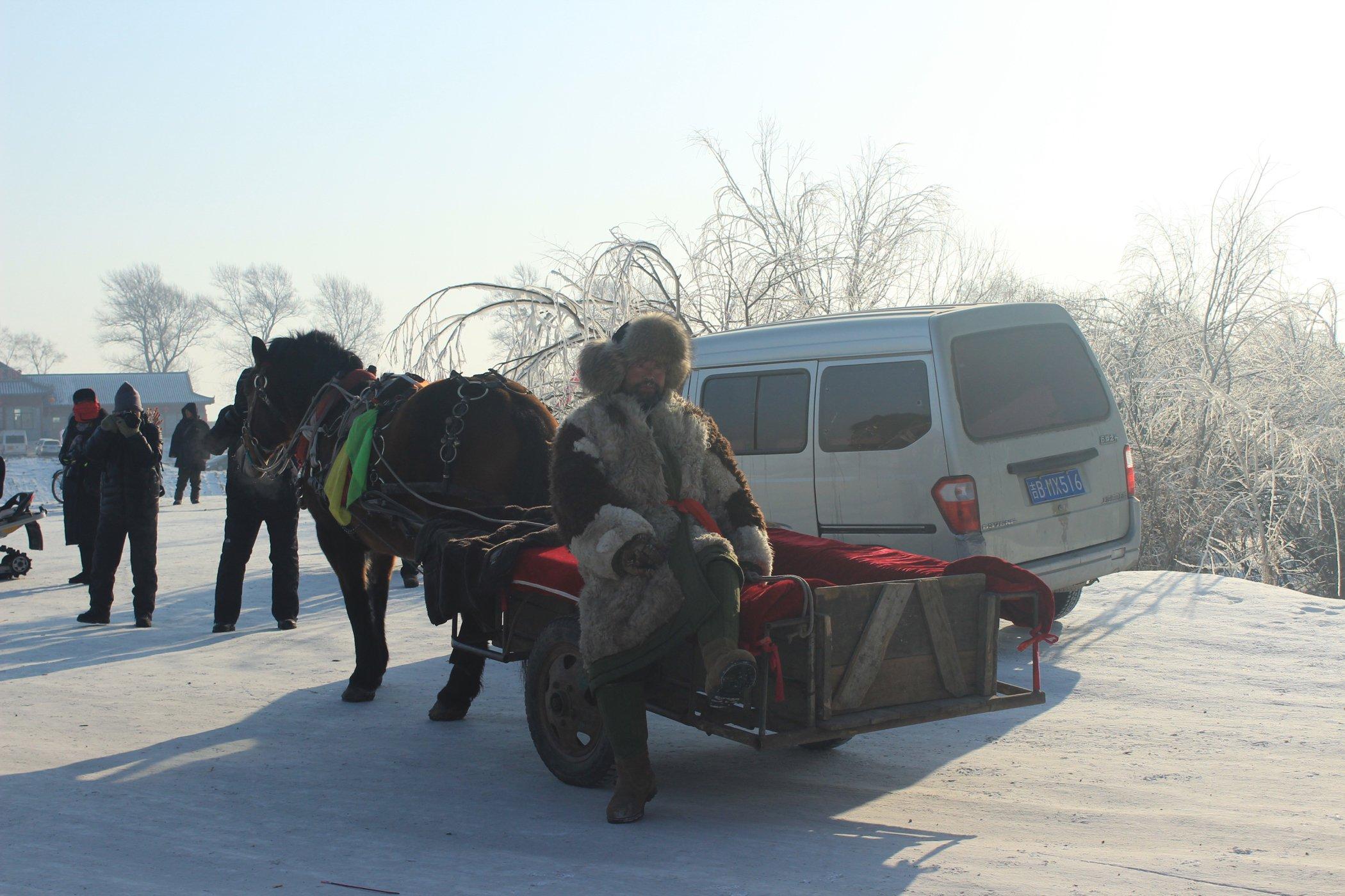 冬天到吉林看东北