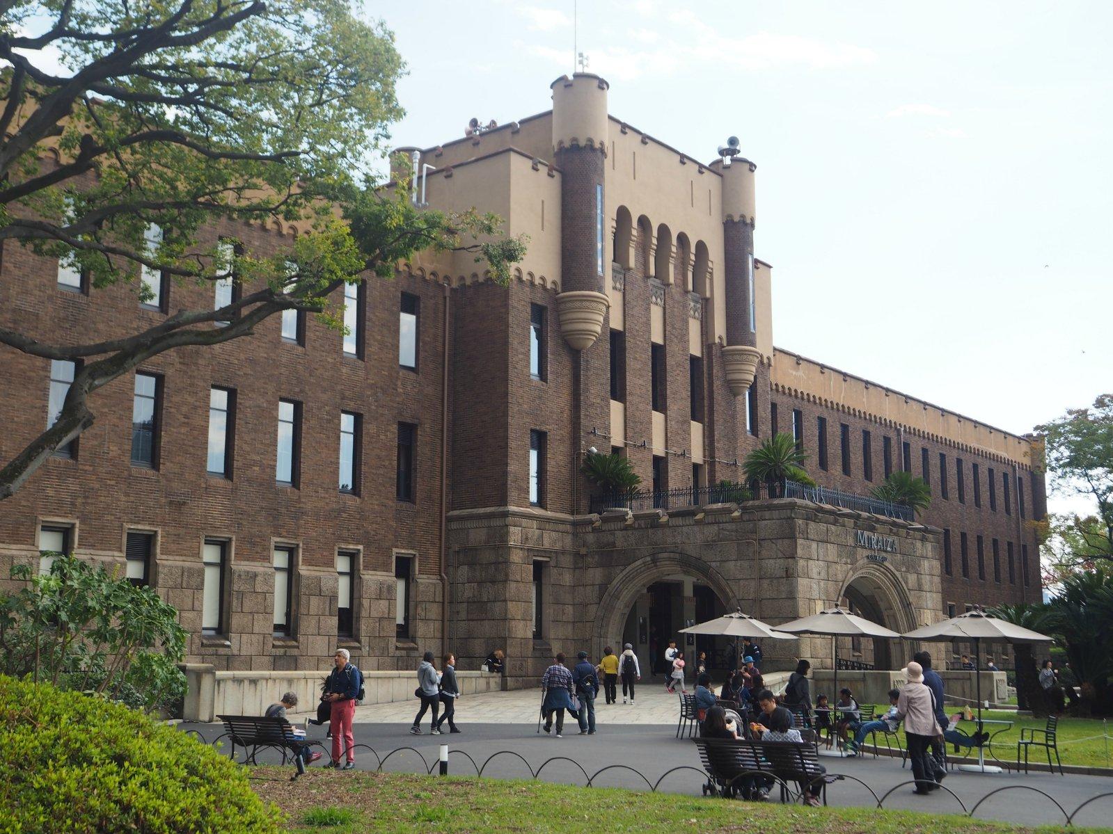 2019大阪城攻略游玩攻略,秋季的天守阁非常漂花水湾一日游公园图片