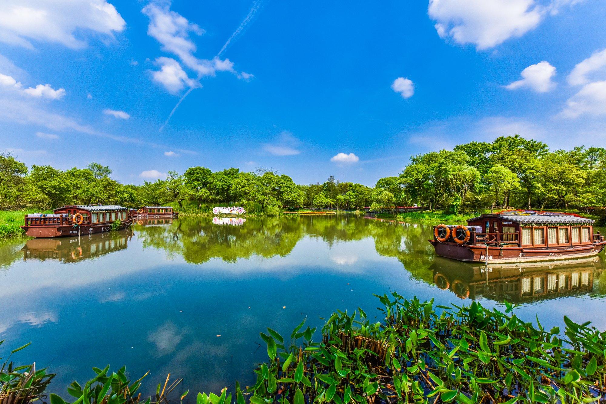 【诗画浙江】花月之季的杭城,是一方童话般的人间仙境