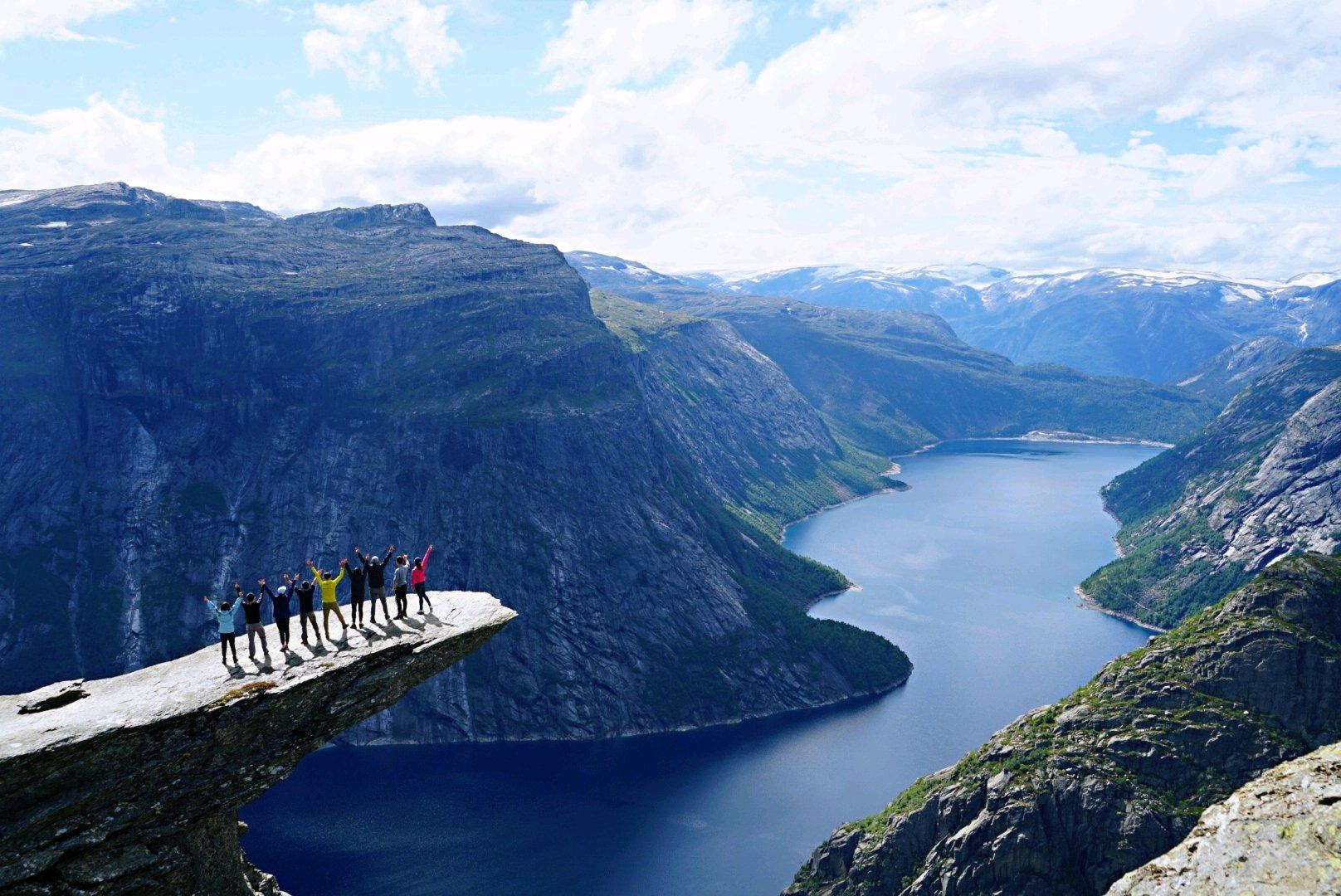 12日德国丹麦挪威游轮自驾山妖之舌