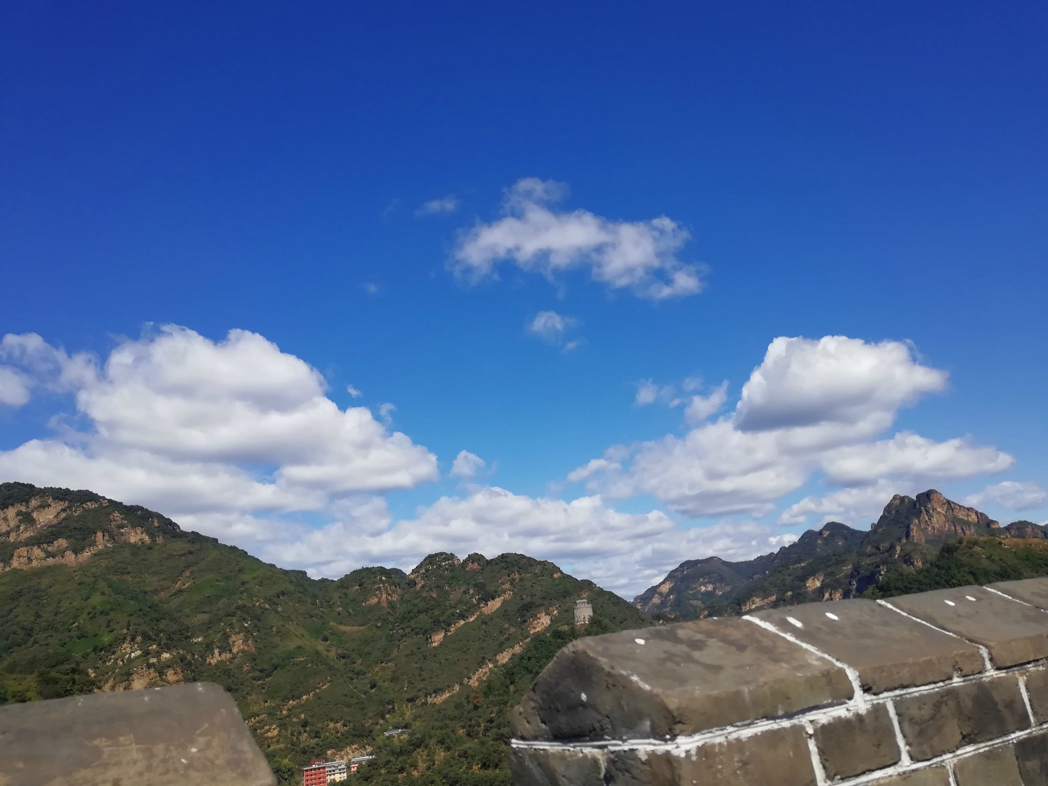 青山绿水,蓝天白云之蓟州溶洞-黄崖关长城-梨木台两日行