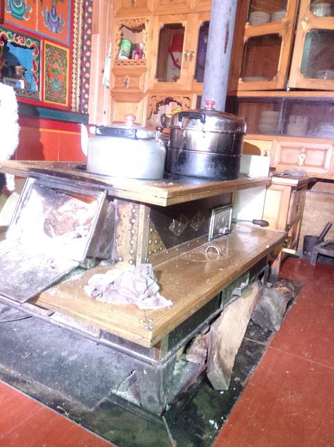 农村砖砌锅灶设计图