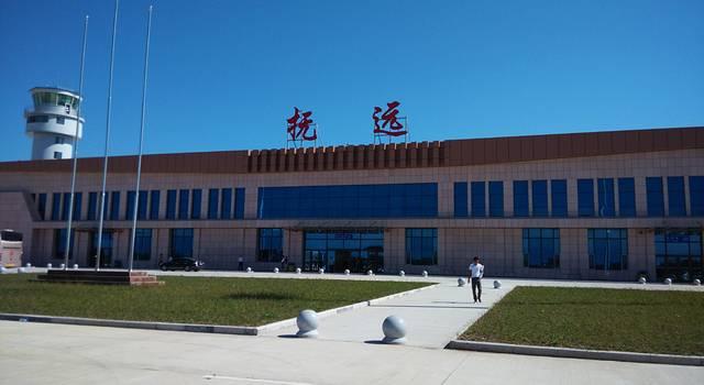 飞机北京——抚远