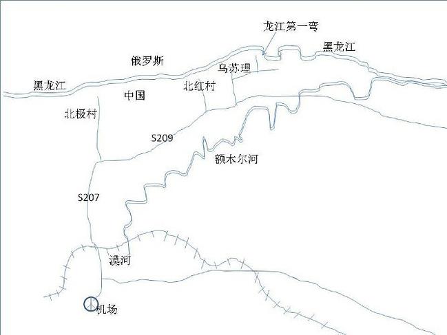 手绘 线路图