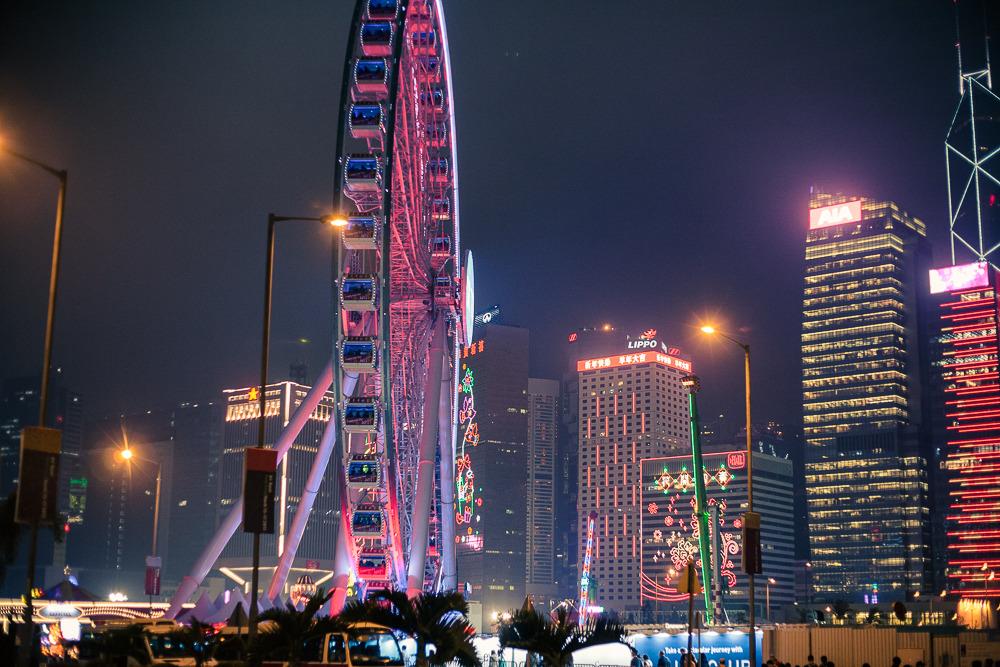 徒步游香港