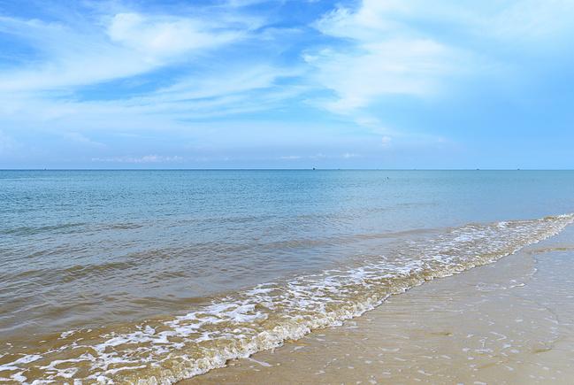 贝壳沙滩图片
