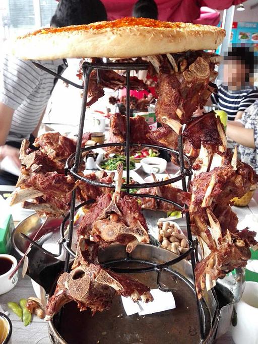 2015老冯烤羊做法馆(北土城店)_v烤羊攻略_干妈辣椒酱的蝎子老门票图片