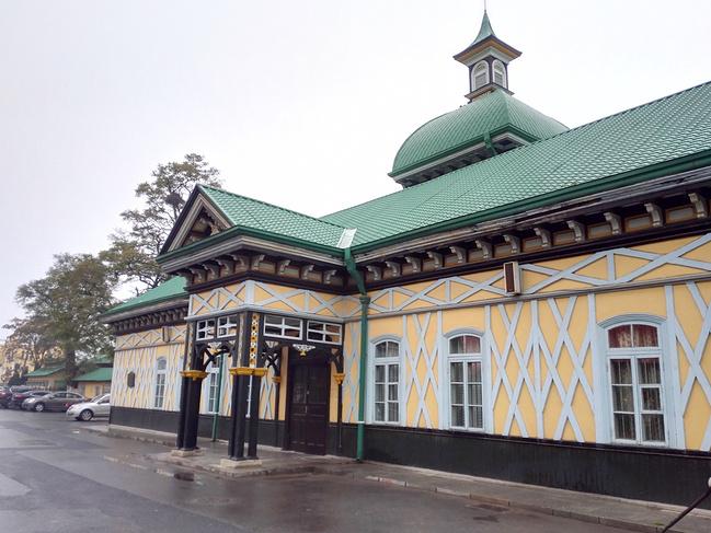 旅顺火车站图片