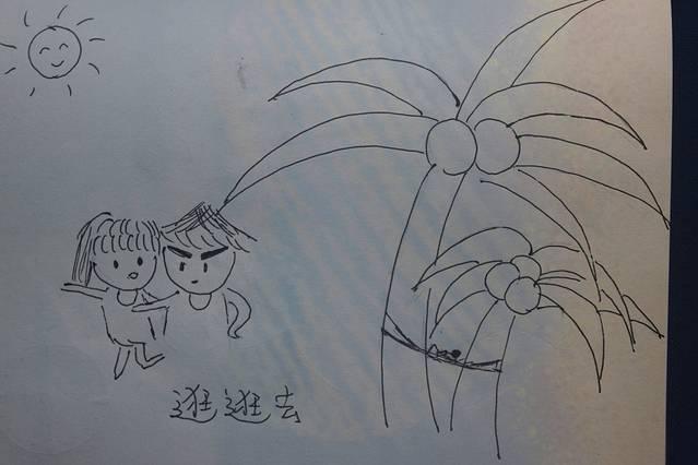 手绘卡通版—我手中的马来西亚