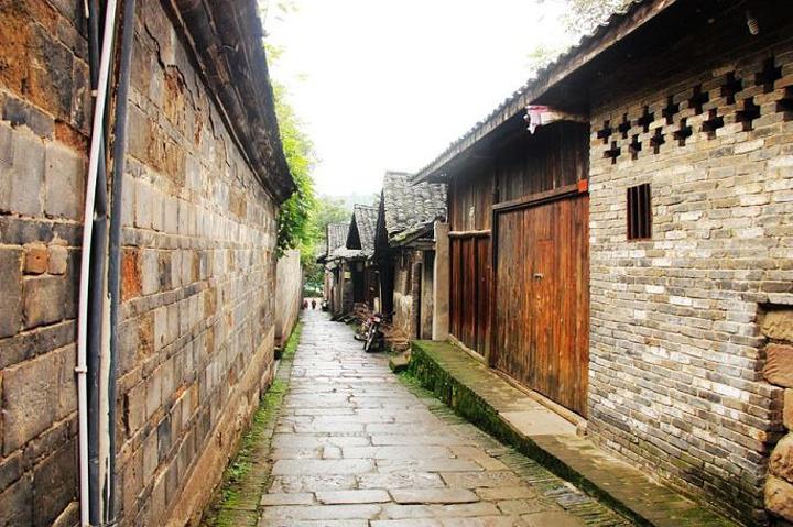 2015李庄古镇位于四川宜宾南溪区长江下游的南岸图片