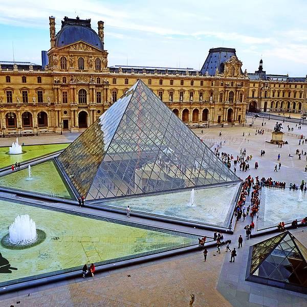 卢浮宫玻璃金字塔旅游攻略
